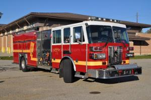 2005 Sutphen Monarch Rescue Pumper