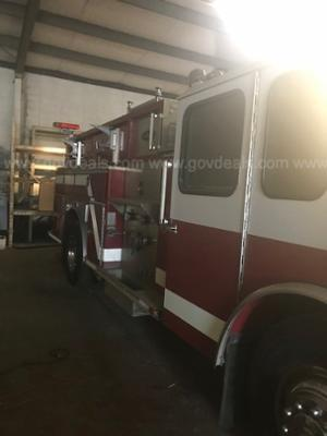 1996 E One Hurricane Pumper