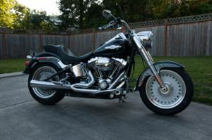2008 Harley Davidson Fat Boy Peace Office Special Edition